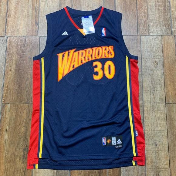 8662cd2de74 adidas Shirts | Nwt Retro Stephen Curry Gsw Nba Jersey | Poshmark